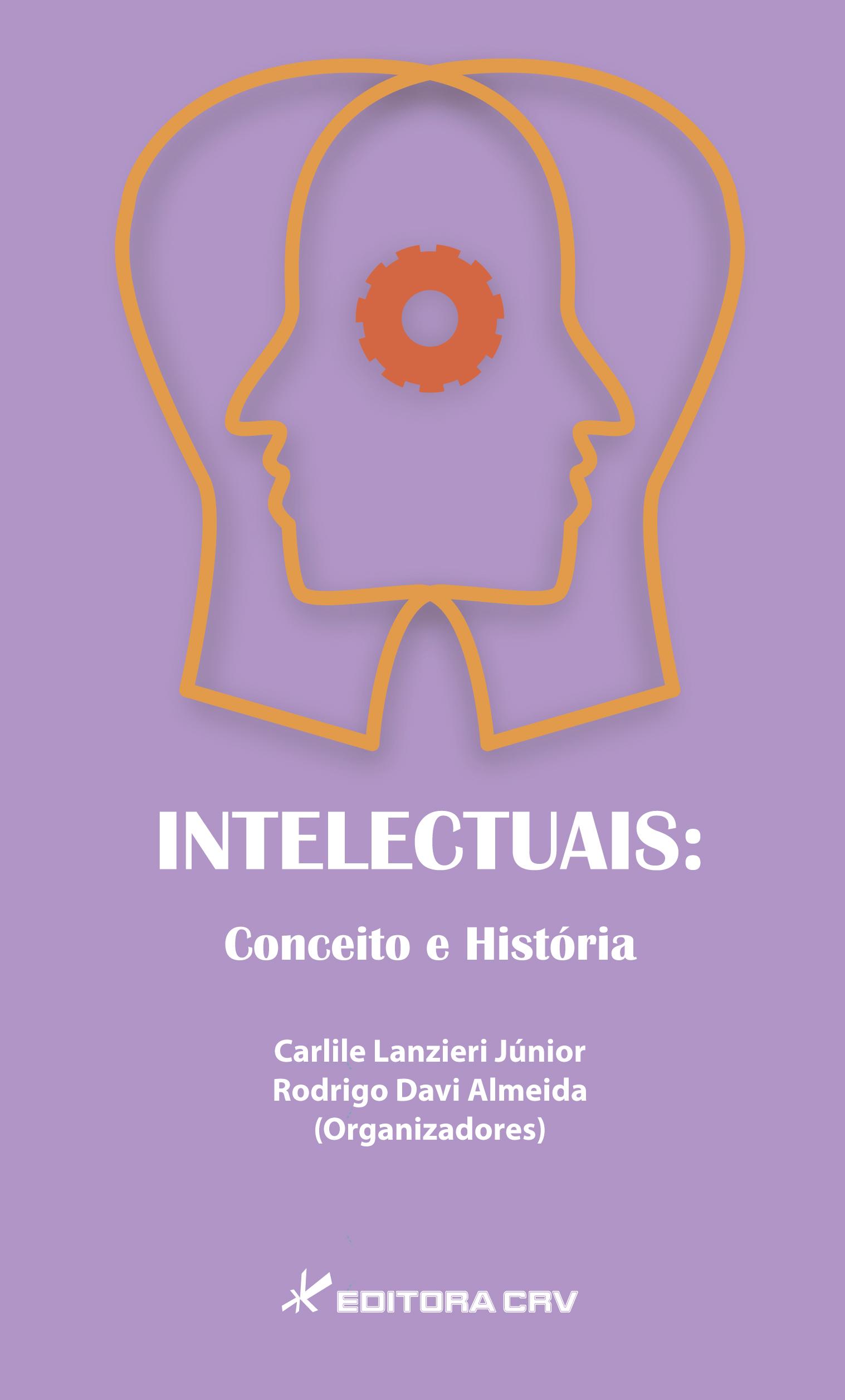 Capa do livro: INTELECTUAIS:<br>conceito e história