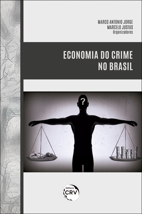 Capa do livro: ECONOMIA DO CRIME NO BRASIL