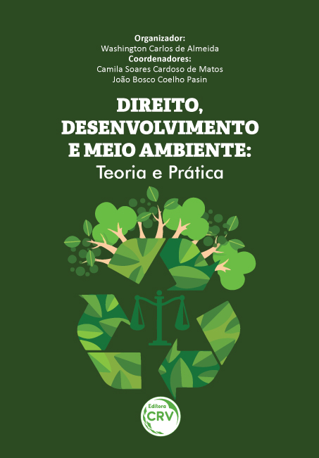 Capa do livro: DIREITO, DESENVOLVIMENTO E MEIO AMBIENTE:<br>teoria e prática