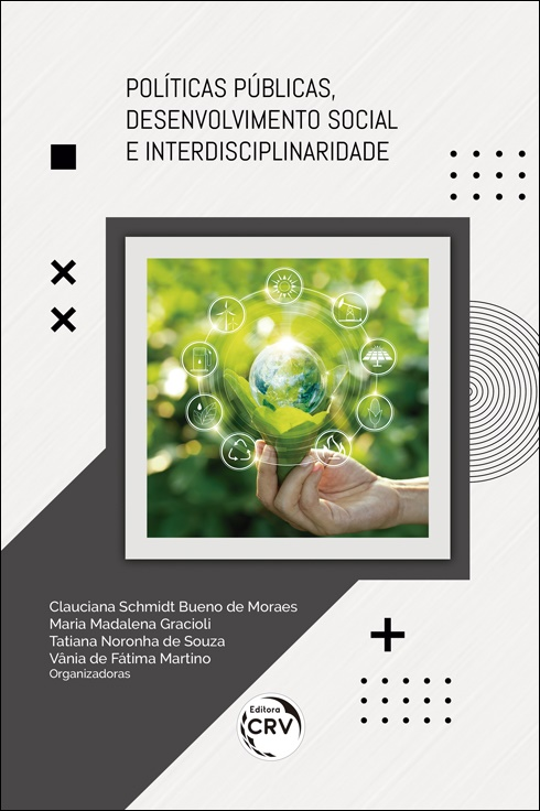 Capa do livro: POLÍTICAS PÚBLICAS, DESENVOLVIMENTO SOCIAL E INTERDISCIPLINARIDADE