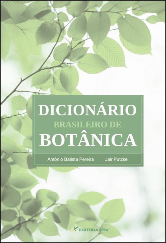 Capa do livro: DICIONÁRIO BRASILEIRO DE BOTÂNICA
