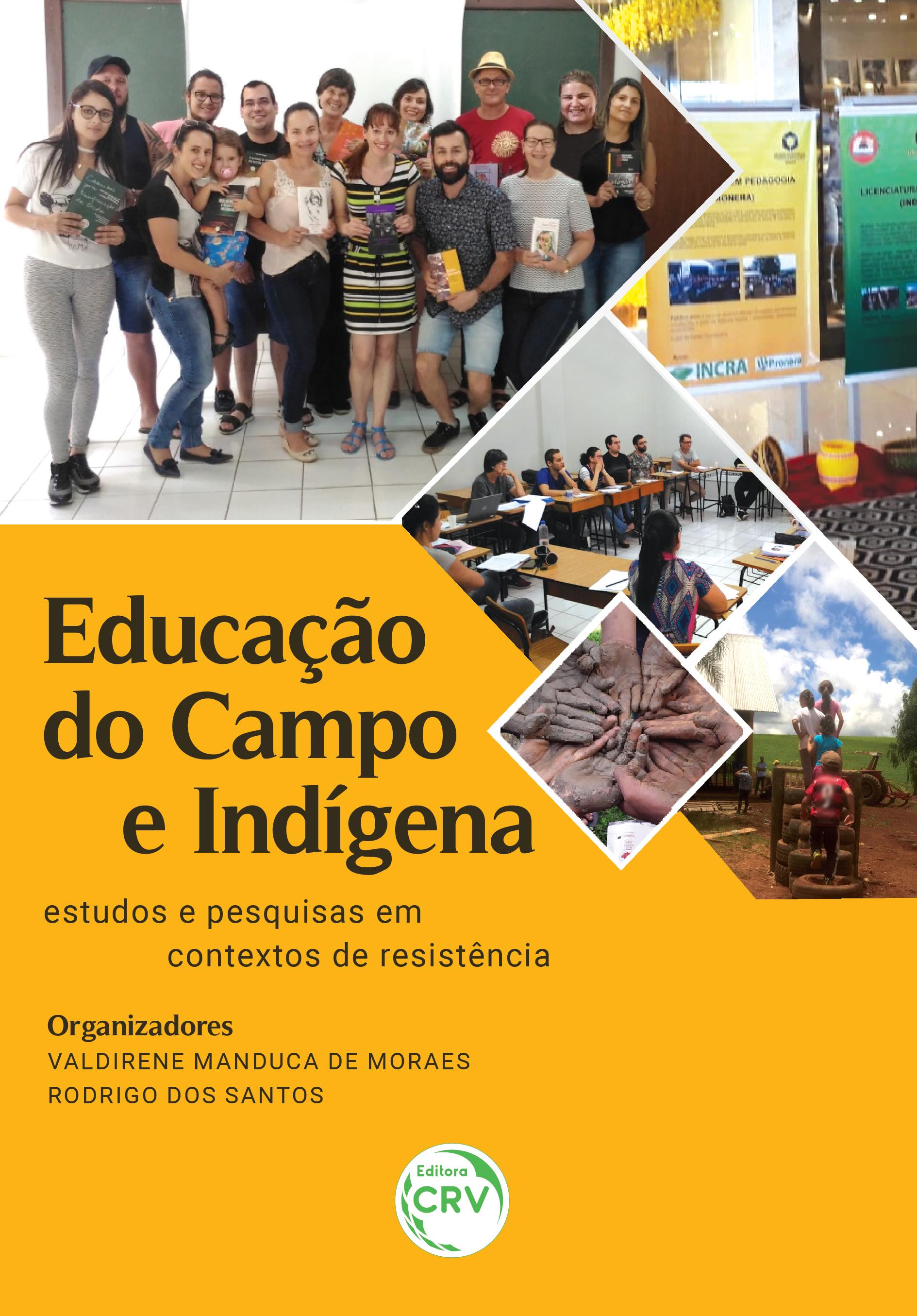 Capa do livro: EDUCAÇÃO DO CAMPO E INDÍGENA: <BR>estudos e pesquisas em contextos de resistência