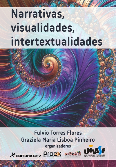 Capa do livro: NARRATIVAS, VISUALIDADES, INTERTEXTUALIDADES