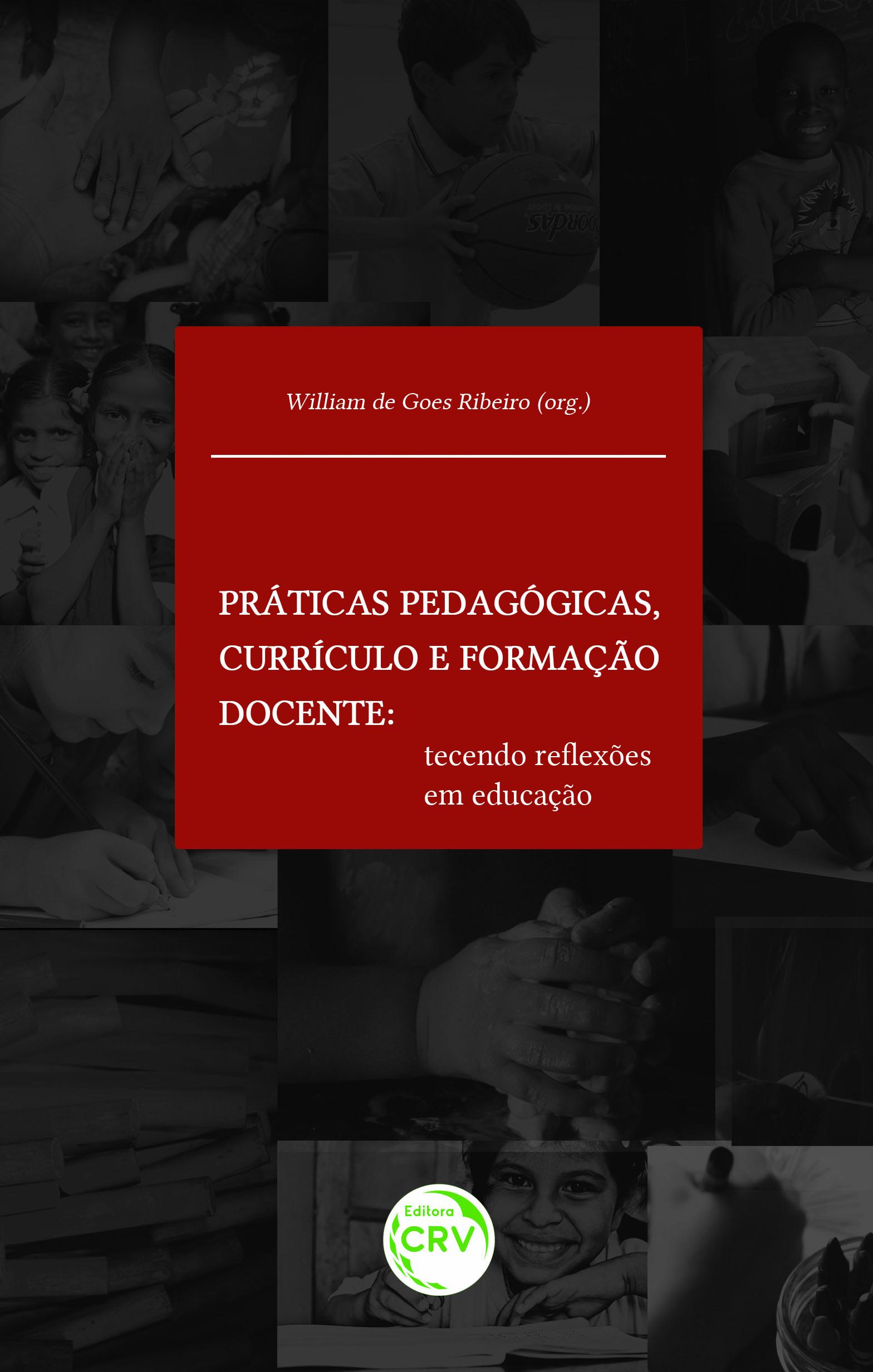 Capa do livro: PRÁTICAS PEDAGÓGICAS, CURRÍCULO E FORMAÇÃO DOCENTE:<br> tecendo reflexões em educação