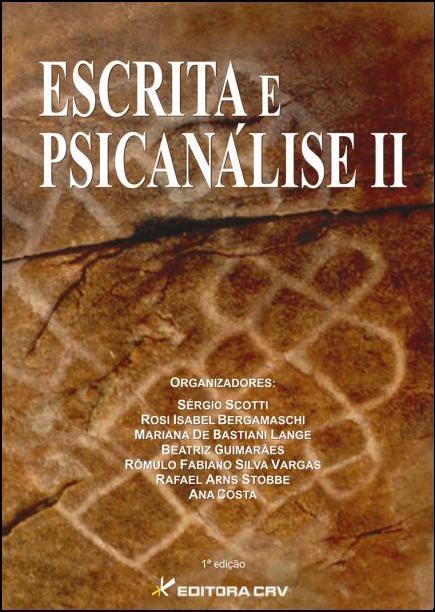 Capa do livro: ESCRITA E PSICANÁLISE II