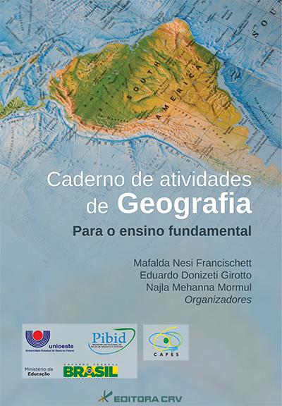 Capa do livro: CADERNO DE ATIVIDADES DE GEOGRAFIA <BR> Para o ensino fundamental (Não Comercializado)