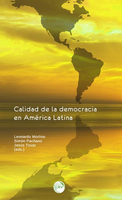 Capa do livro: CALIDAD DE LA DEMOCRACIA EN AMÉRICA LATINA