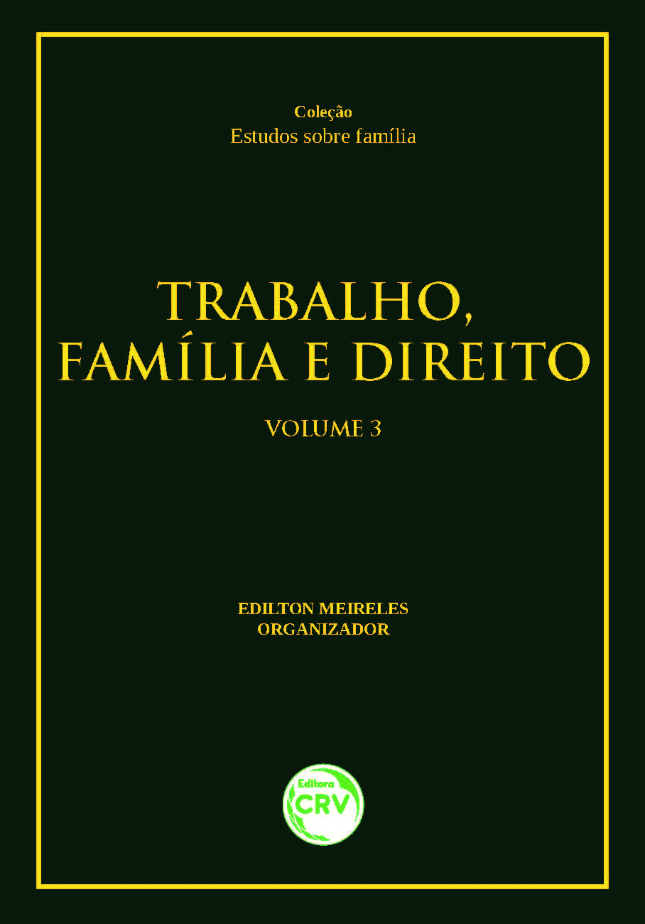 Capa do livro: TRABALHO, FAMÍLIA E DIREITO