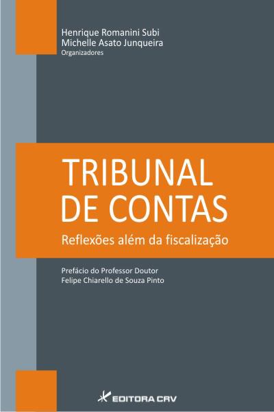 Capa do livro: TRIBUNAL DE CONTAS: reflexões além da fiscalização