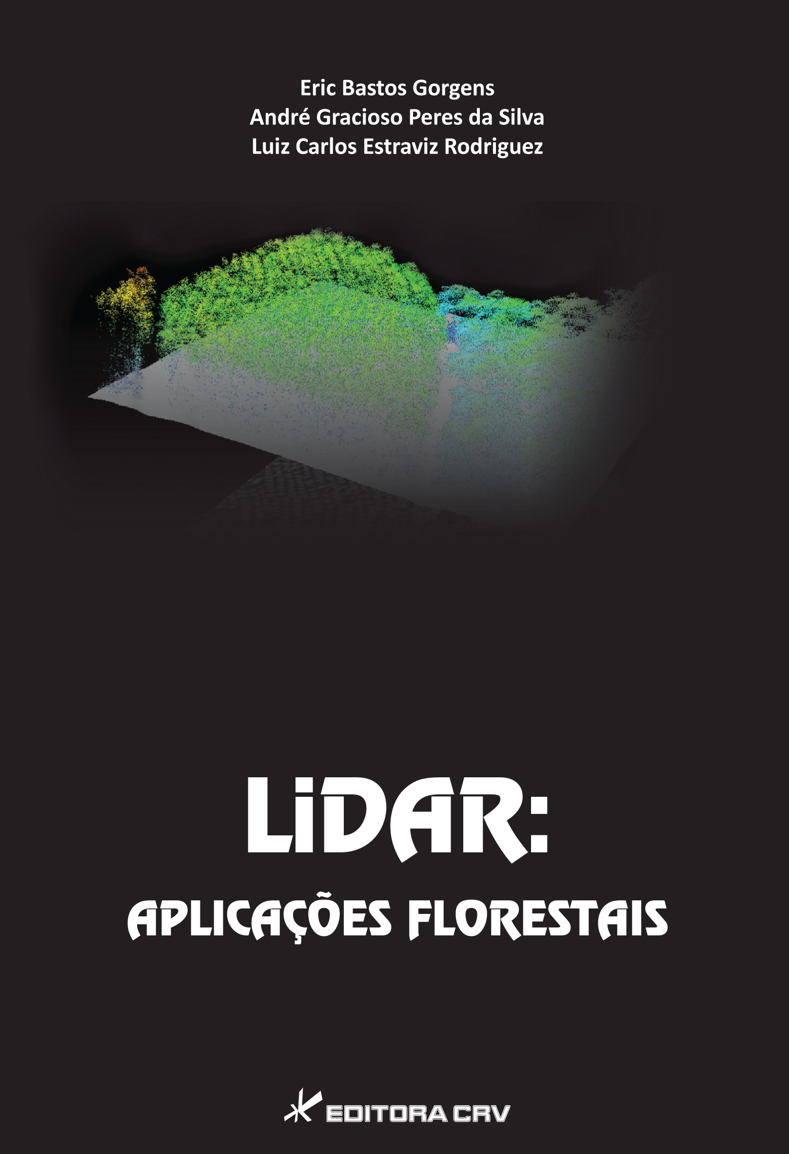 Capa do livro: LIDAR: <br> aplicações florestais