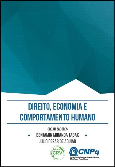 Capa do livro: DIREITO, ECONOMIA E COMPORTAMENTO HUMANO