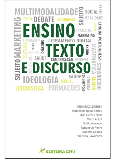 Capa do livro: ENSINO, TEXTO E DISCURSO