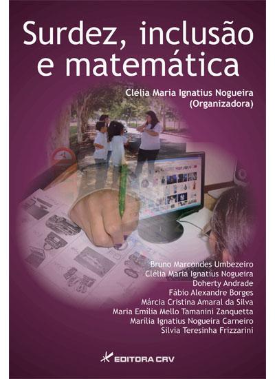 Capa do livro: SURDEZ, INCLUSÃO E MATEMÁTICA