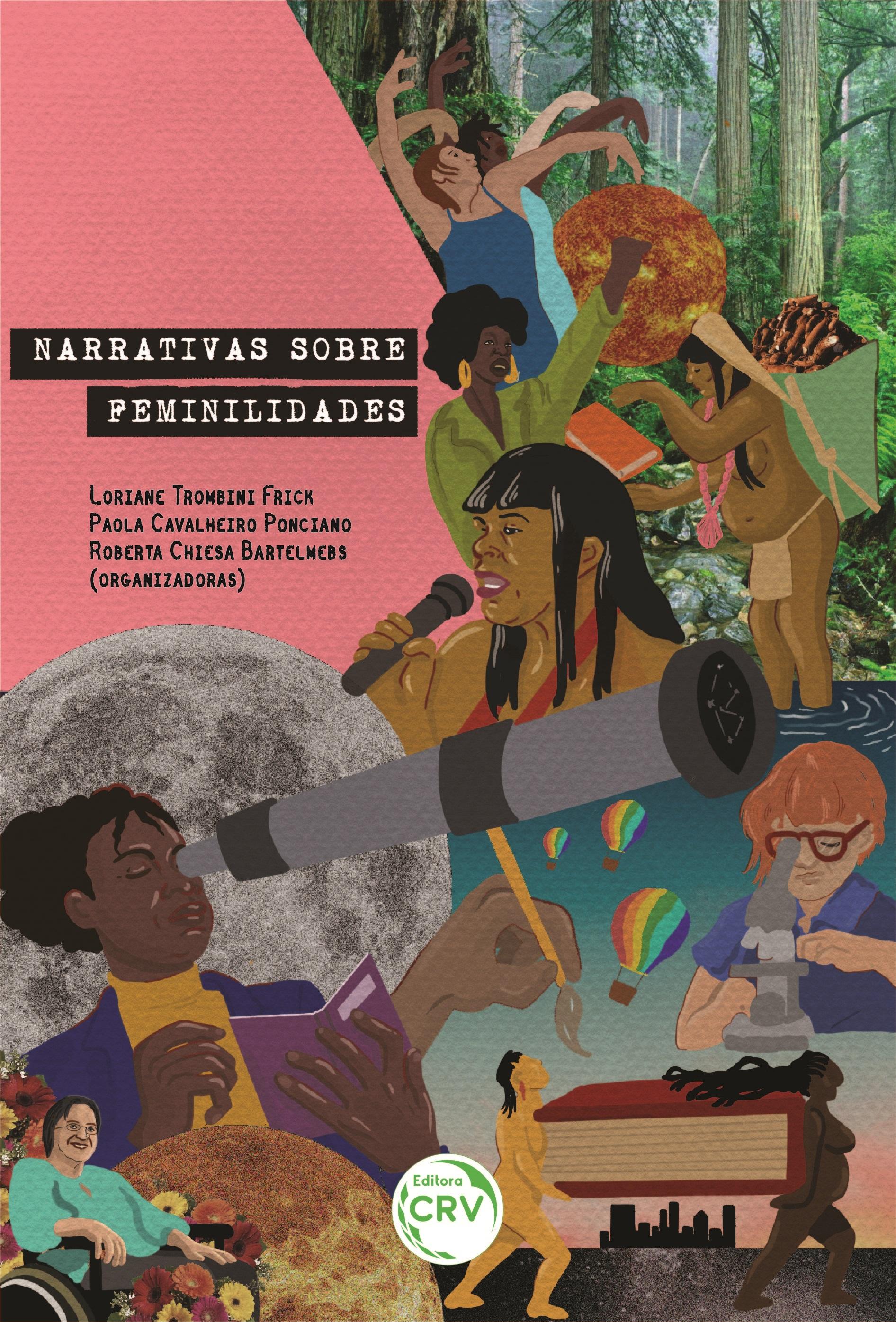 Capa do livro: NARRATIVAS SOBRE FEMINILIDADES