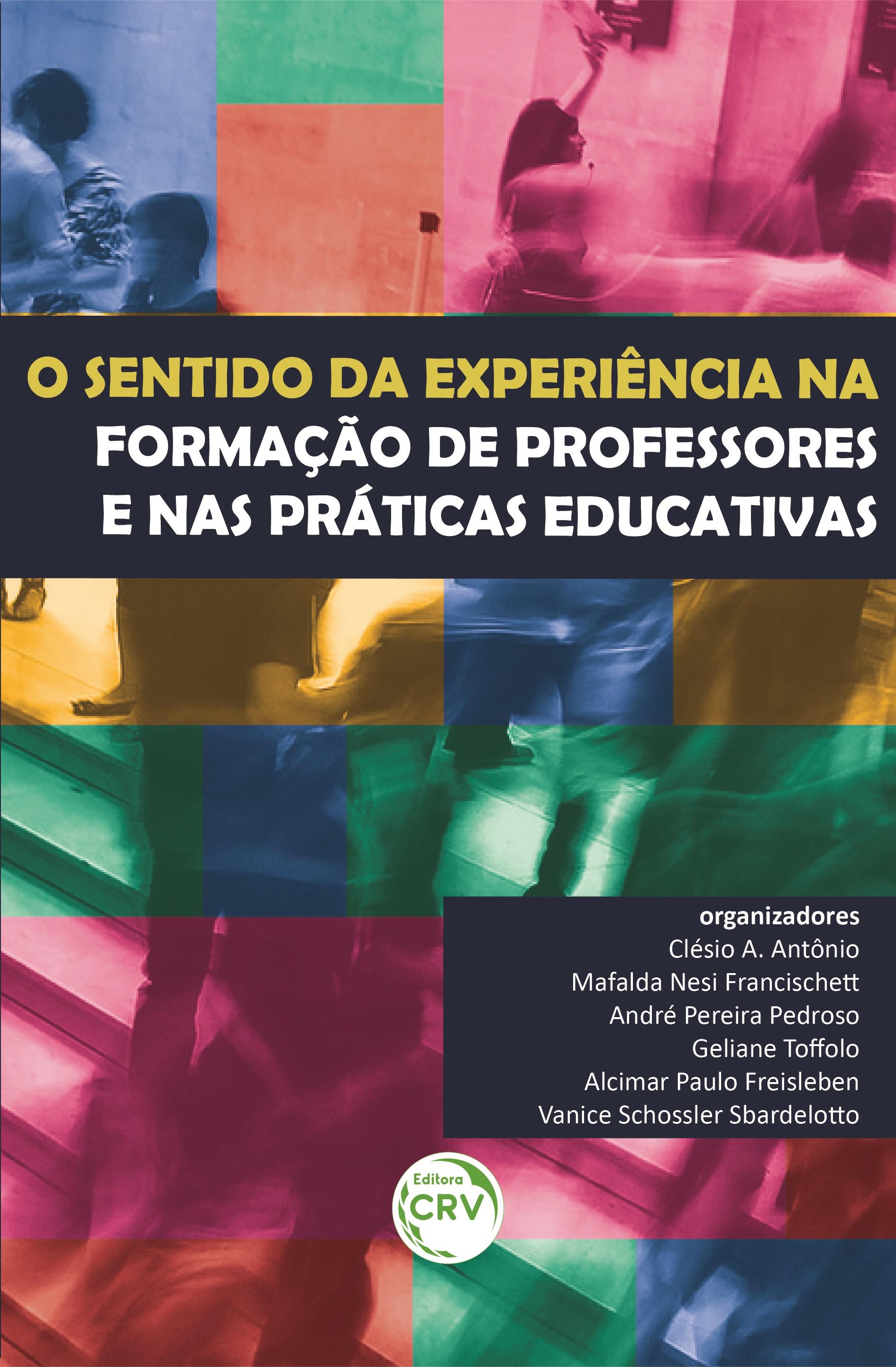 Capa do livro: O SENTIDO DA EXPERIÊNCIA NA FORMAÇÃO DE PROFESSORES E NAS PRÁTICAS EDUCATIVAS