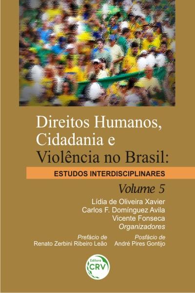 Capa do livro: DIREITOS HUMANOS, CIDADANIA E VIOLÊNCIA NO BRASIL:<br>estudos interdisciplinares - Volume 5