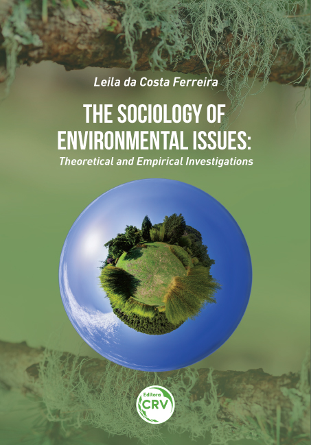 Capa do livro: THE SOCIOLOGY OF ENVIRONMENTAL ISSUES: theoretical and empirical investigations