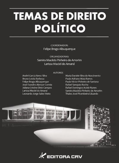 Capa do livro: TEMAS DE DIREITO POLÍTICO