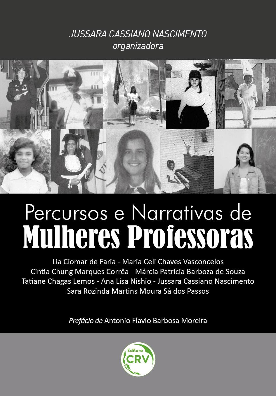 Capa do livro: PERCURSOS E NARRATIVAS DE MULHERES PROFESSORAS
