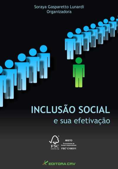 Capa do livro: INCLUSÃO SOCIAL E SUA EFETIVAÇÃO