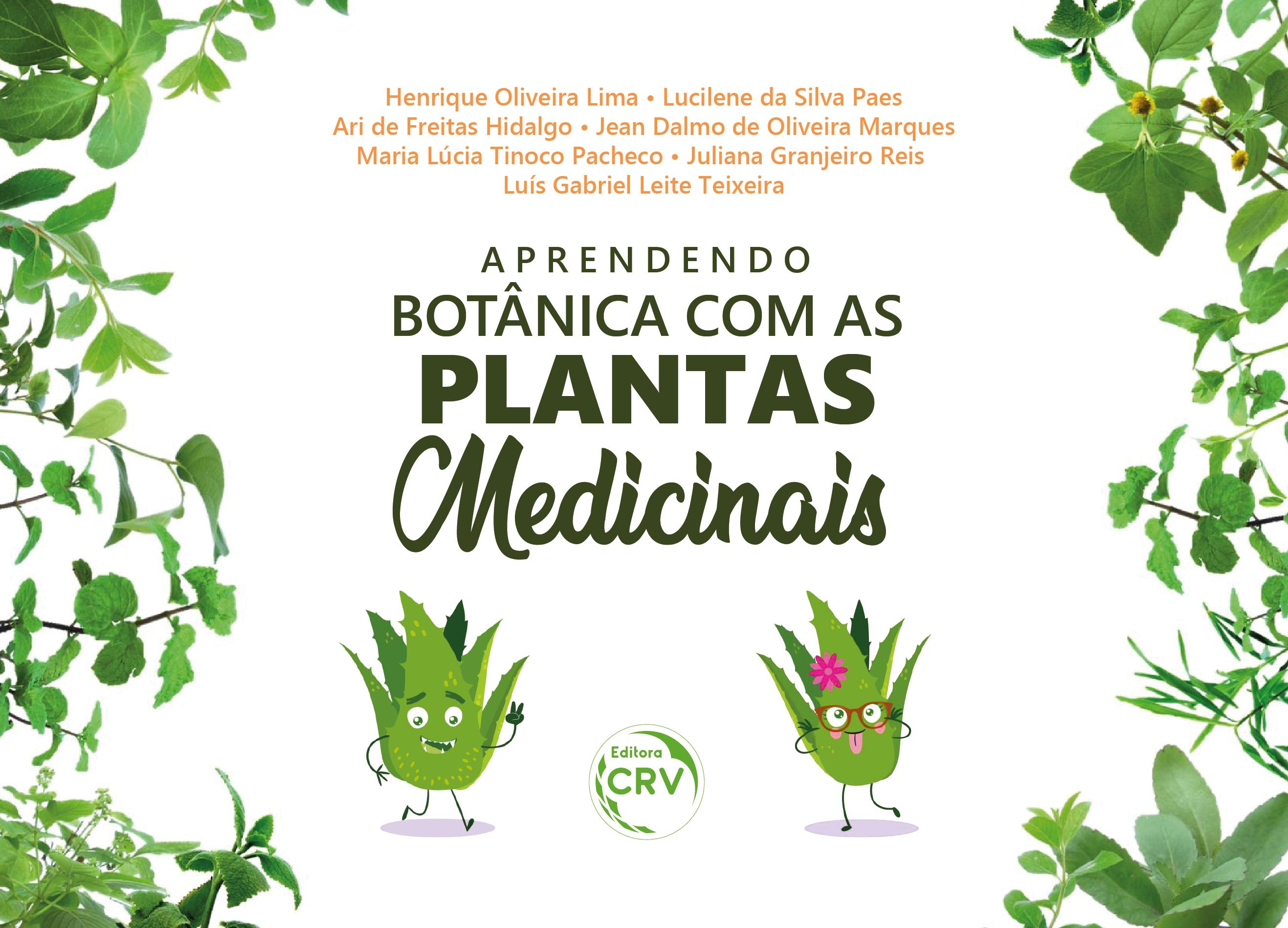 Capa do livro: APRENDENDO BOTÂNICA COM AS PLANTAS MEDICINAIS