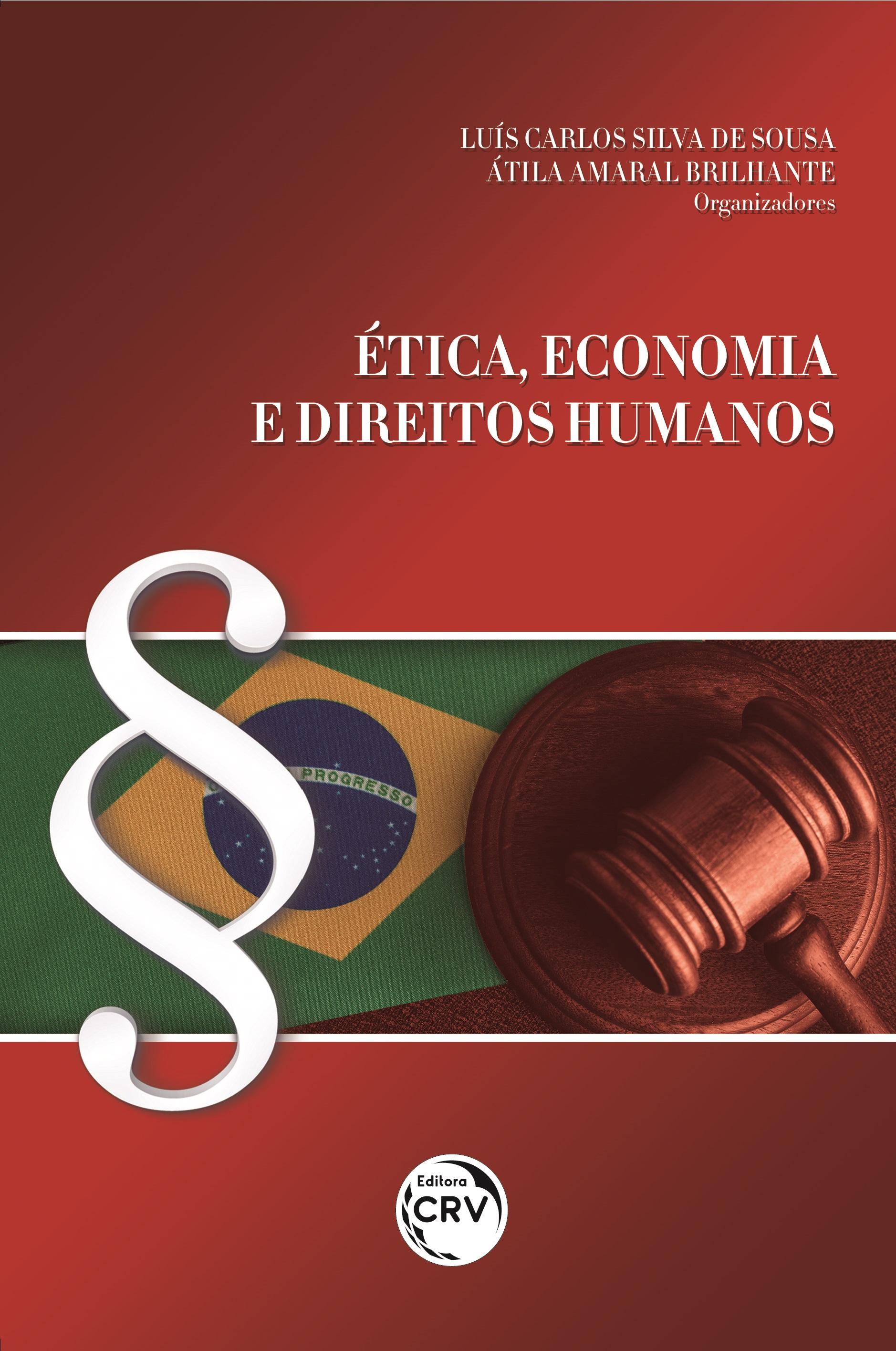 Capa do livro: ÉTICA, ECONOMIA E DIREITOS HUMANOS