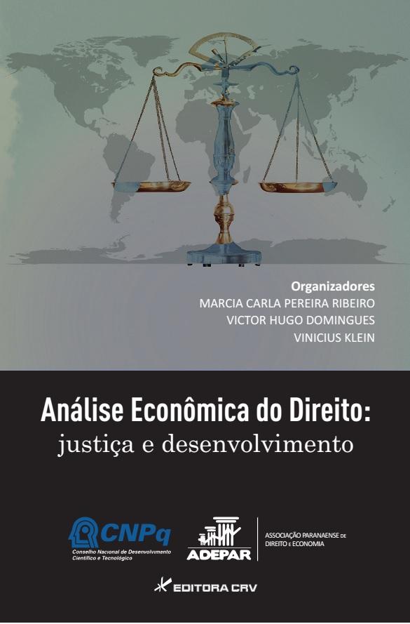 Capa do livro: ANÁLISE ECONÔMICA DO DIREITO: justiça e desenvolvimento