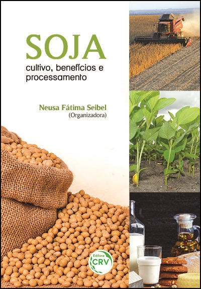 Capa do livro: SOJA:<br>cultivo, benefícios e processamento