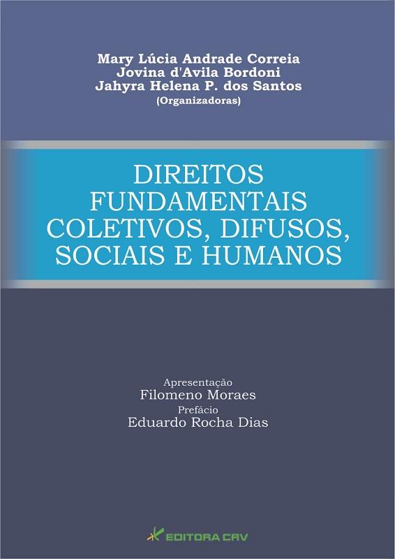 Capa do livro: DIREITOS FUNDAMENTAIS<br>COLETIVOS, DIFUSOS, SOCIAIS E HUMANOS