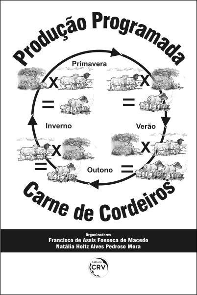 Capa do livro: PRODUÇÃO PROGRAMADA DE CARNE DE CORDEIROS