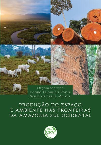 Capa do livro: PRODUÇÃO DO ESPAÇO E AMBIENTE NAS FRONTEIRAS DA AMAZÔNIA SUL OCIDENTAL