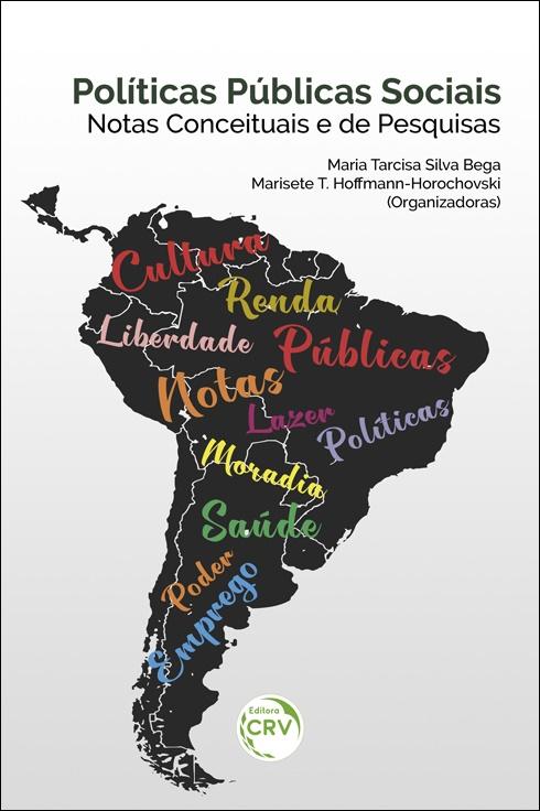 Capa do livro: POLÍTICAS PÚBLICAS SOCIAIS – NOTAS CONCEITUAIS E DE PESQUISAS