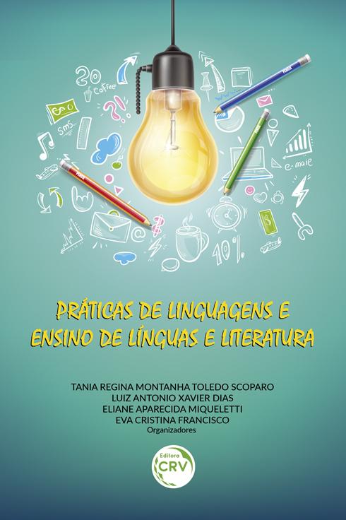 Capa do livro: PRÁTICAS DE LINGUAGENS E ENSINO DE LÍNGUAS E LITERATURA