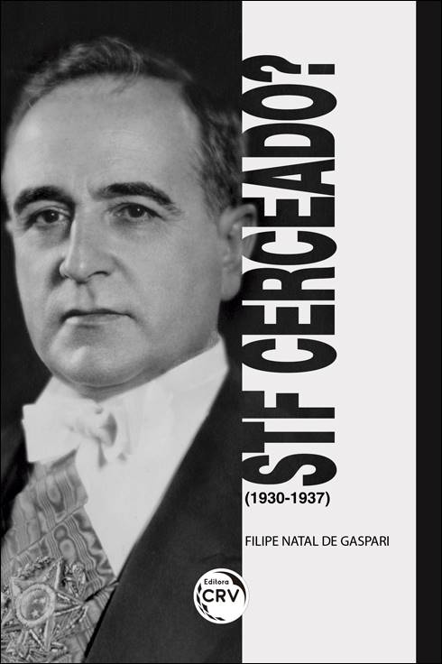 Capa do livro: STF CERCEADO? (1930-1937)