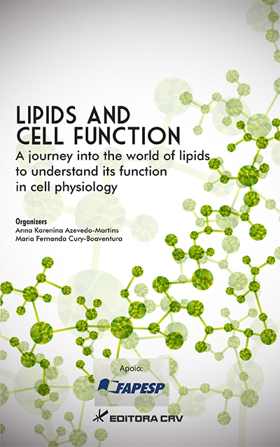 Capa do livro: LIPIDS AND CELL FUNCTION:<BR> a journey into the world of lipids to understand its function in cell physiology