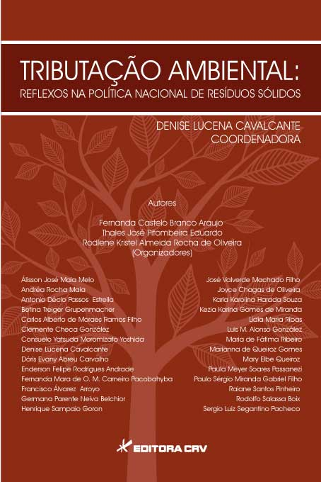 Capa do livro: TRIBUTAÇÃO AMBIENTAL: <br> reflexos na política nacional de resíduos sólidos