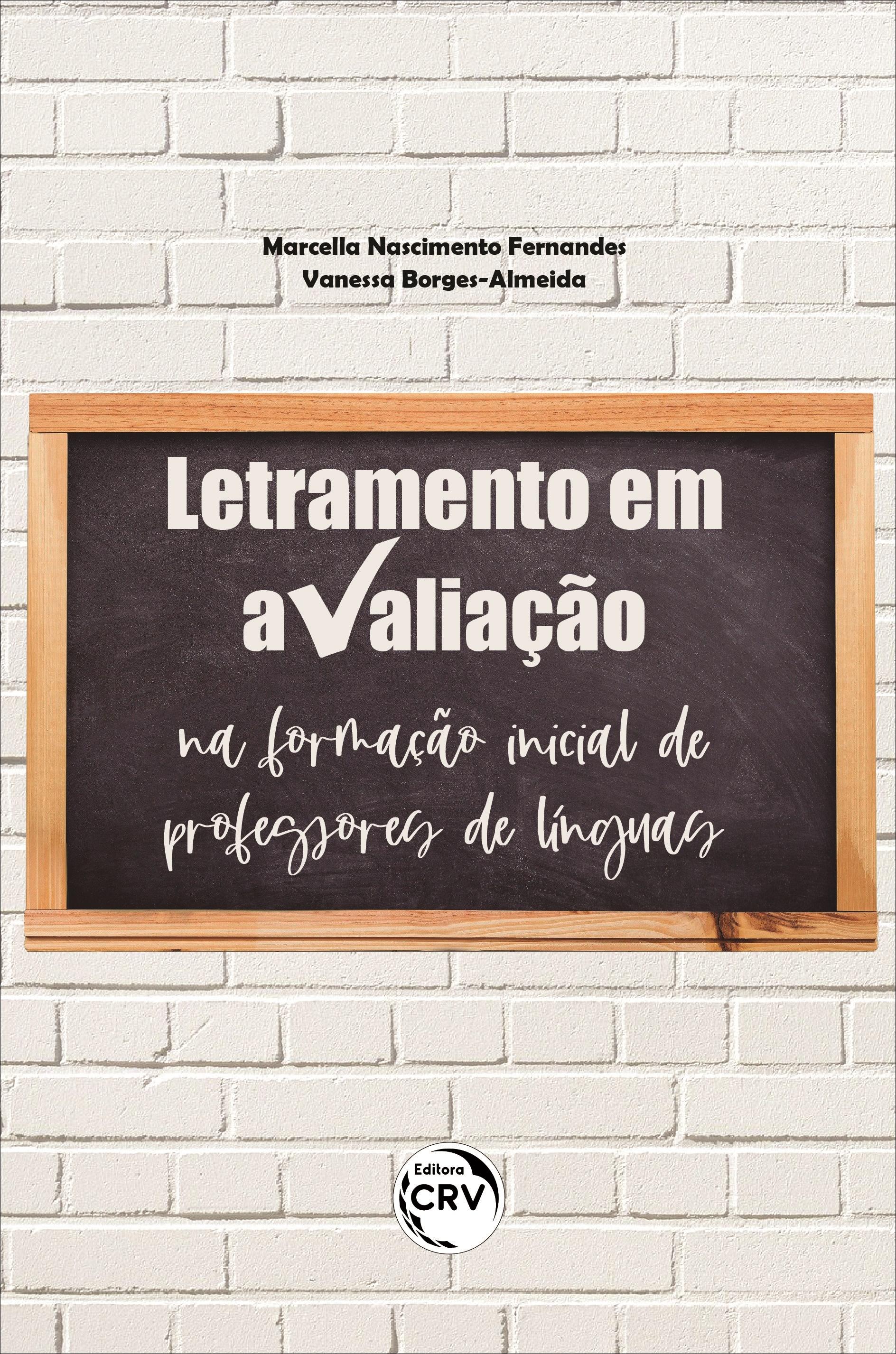 Capa do livro: LETRAMENTO EM AVALIAÇÃO NA FORMAÇÃO INICIAL DE PROFESSORES DE LÍNGUAS