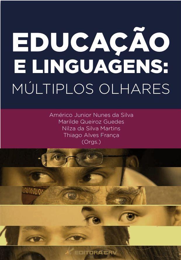 Capa do livro: EDUCAÇÃO E LINGUAGENS:<br>múltiplos olhares