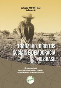 TRABALHO, DIREITOS SOCIAIS E DEMOCRACIA NO BRASIL<br> Coleção ANPUH-AM<br> Volume 1