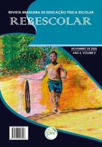 ANO VI - VOLUME II - NOVEMBRO 2020 <br> REVISTA BRASILEIRA DE EDUCAÇÃO FÍSICA ESCOLAR - REBESCOLAR