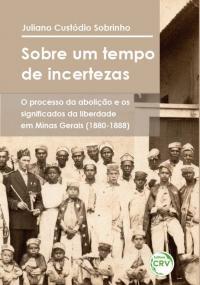 SOBRE UM TEMPO DE INCERTEZAS: <br>o processo da abolição e os significados da liberdade em Minas Gerais (1880-1888)